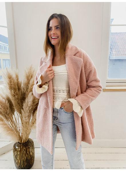 Pink Cloudy Coat