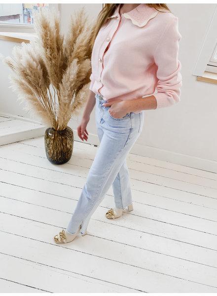 Light Straight Detail Jeans