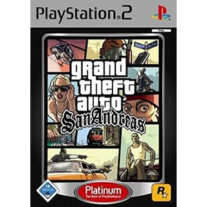 Grand Theft Auto - San Andreas (platinum)