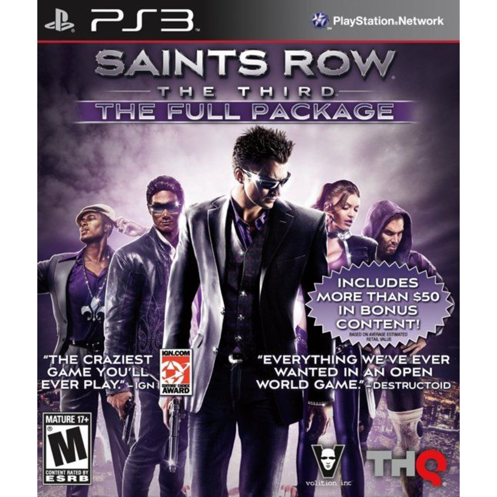 Saints Row The Third - Full Package