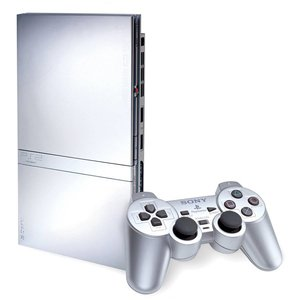 Sony Playstation 2 Slim - Zilver