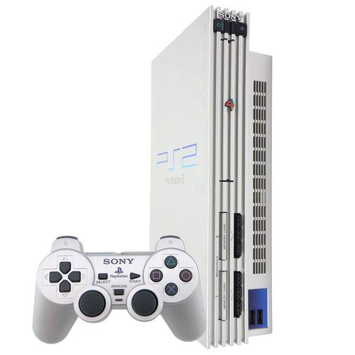 Sony Playstation 2 Phat - Zilver