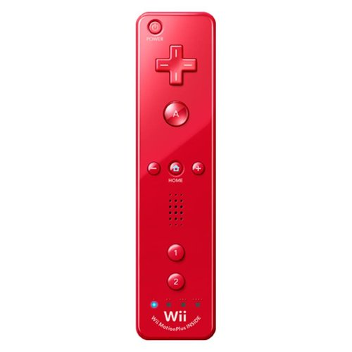 Nintendo Wii / Wii U Remote Motion Plus - Rood (Controller)