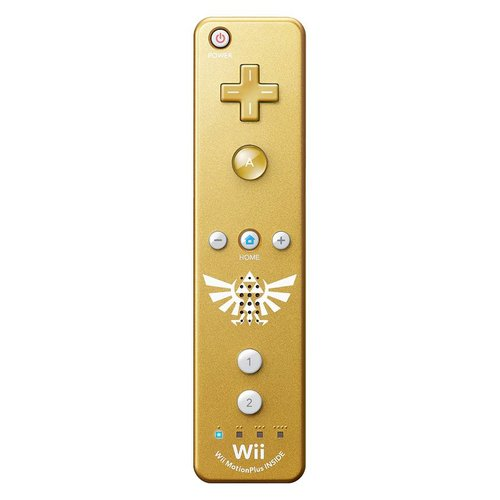 Nintendo Wii / Wii U Remote Motion Plus - Zelda Edition (Controller) + Orginele hoes