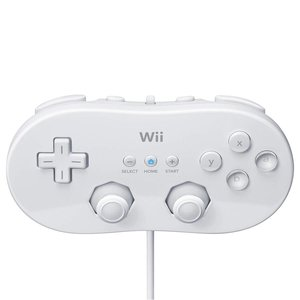 Nintendo Wii Classic Controller - Wit
