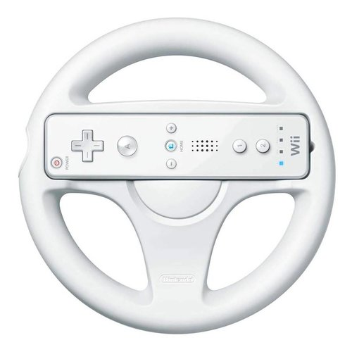Nintendo Wii Wheel - Wit