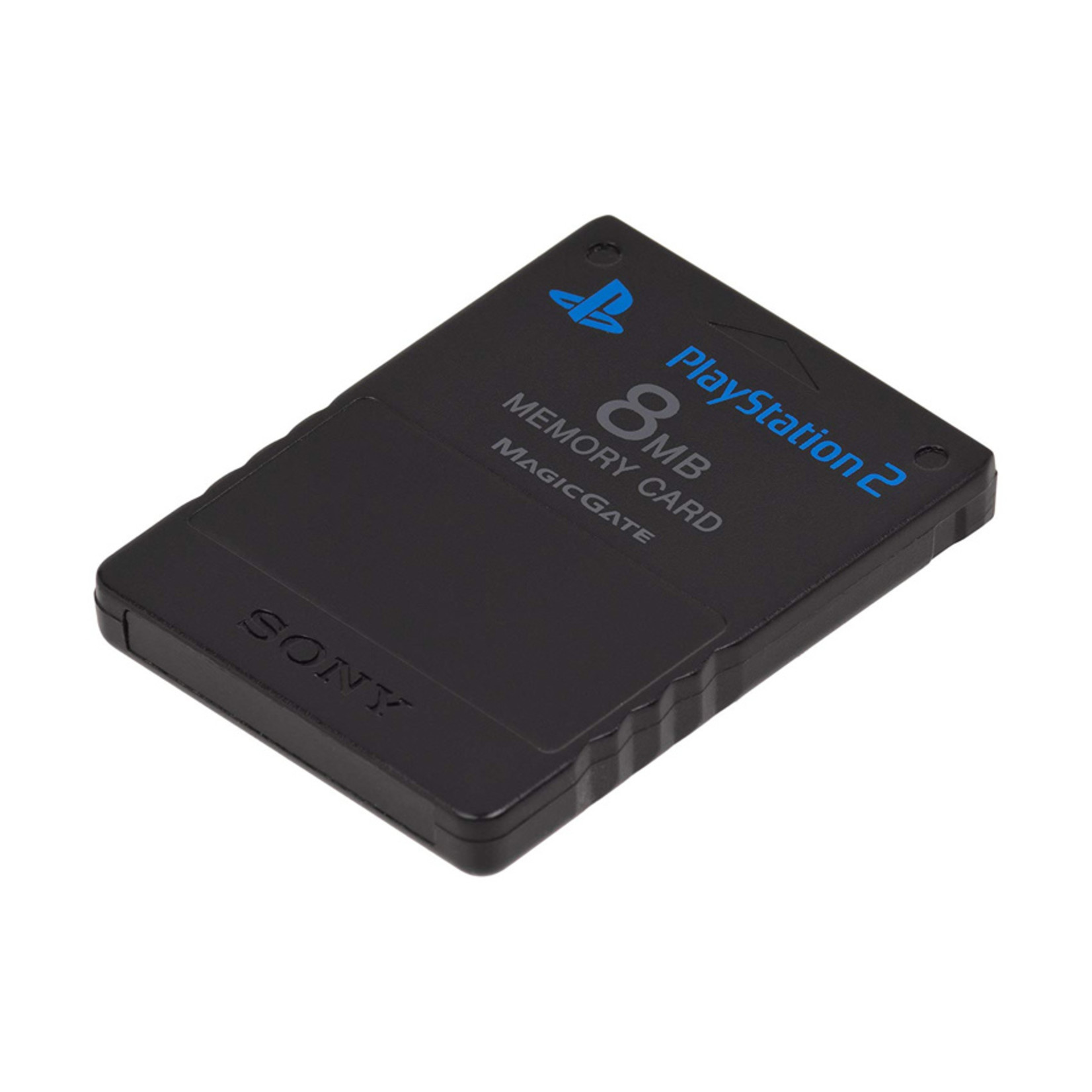 Playstation 2 - 8MB Memory Card - Zwart