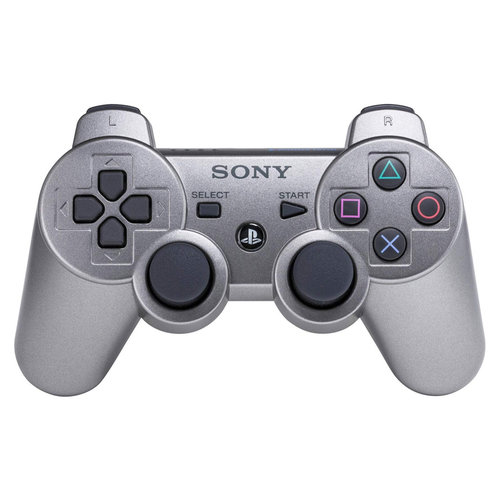 Playstation 3 Controller Dualshock 3 - Zilver