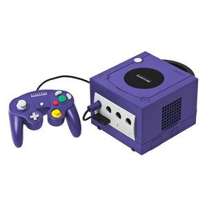 Nintendo Gamecube - Paars (Indigo)