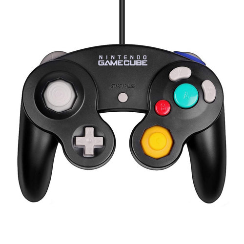 Nintendo Gamecube controller - Zwart (Jet)