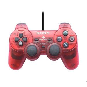 Sony Playstation 2 Dual Shock 2 controller - Rood (doorzichtig)