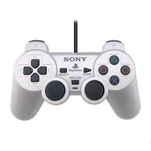 Sony Playstation 2 Dual Shock 2 controller - Zilver