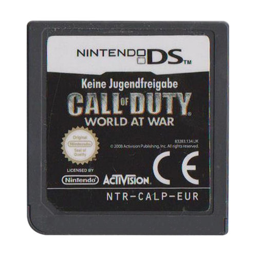 Call of Duty World at War (losse cassette)