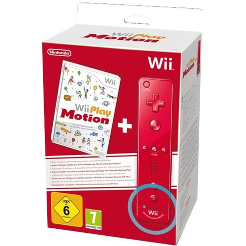 Wii Play - Motion Plus + Wii Remote - Rood