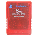 Playstation 2 - 8MB Memory Card - Rood