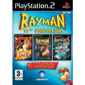 Rayman 10th Anniversary 3 Title Pack