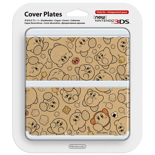 Cover Plate NEW Nintendo 3DS - Kirby (Nieuw)