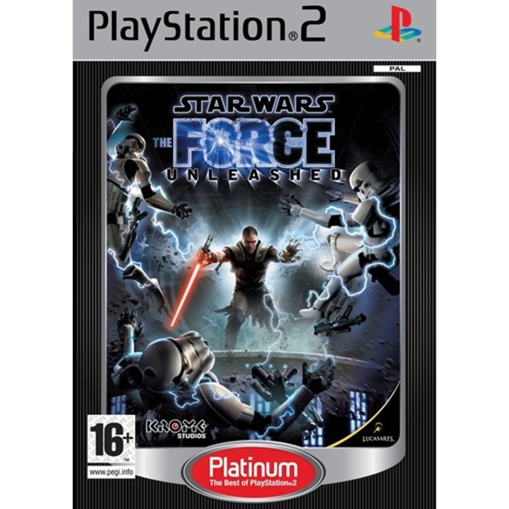 Star Wars - The Force Unleashed (Platinum)