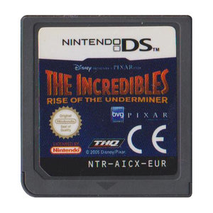 The Incredibles Rise of the Underminer (losse cassette)