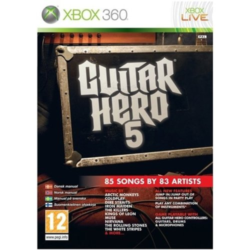 Guitar Hero 5 (Game Only)