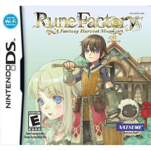 Rune Factory - A Fantasy Harvest Moon (USA)