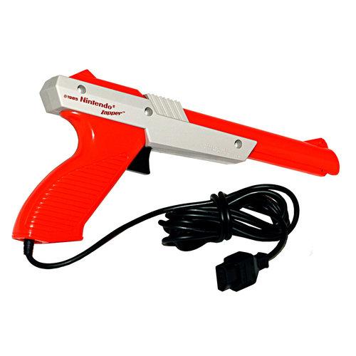 Nintendo NES Zapper (Light Gun) - Oranje