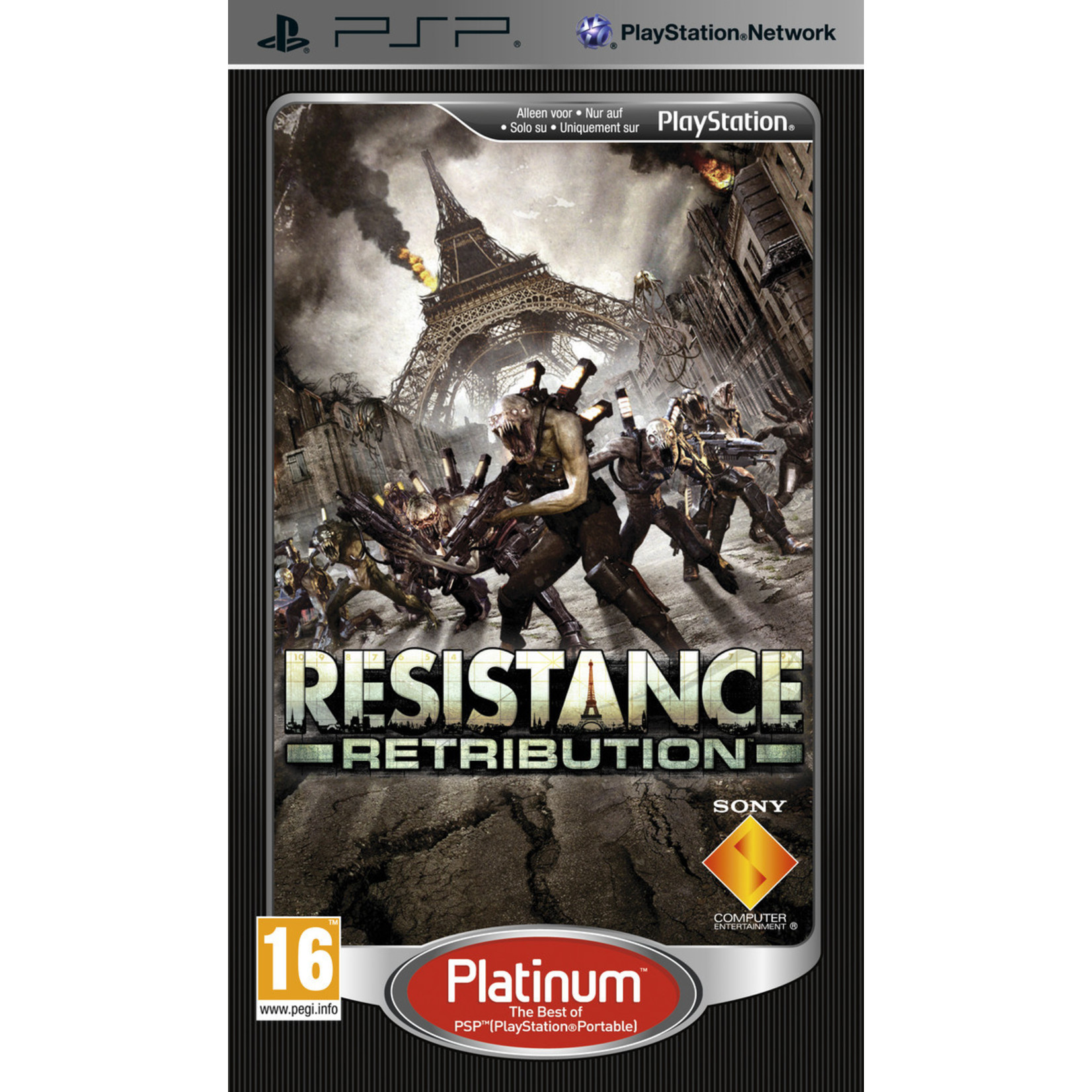 Resistance - Retribution (Platinum)
