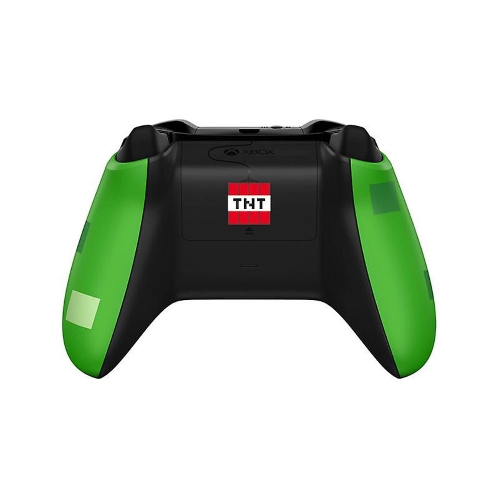 Microsoft Xbox One Controller - Minecraft Creeper Edition