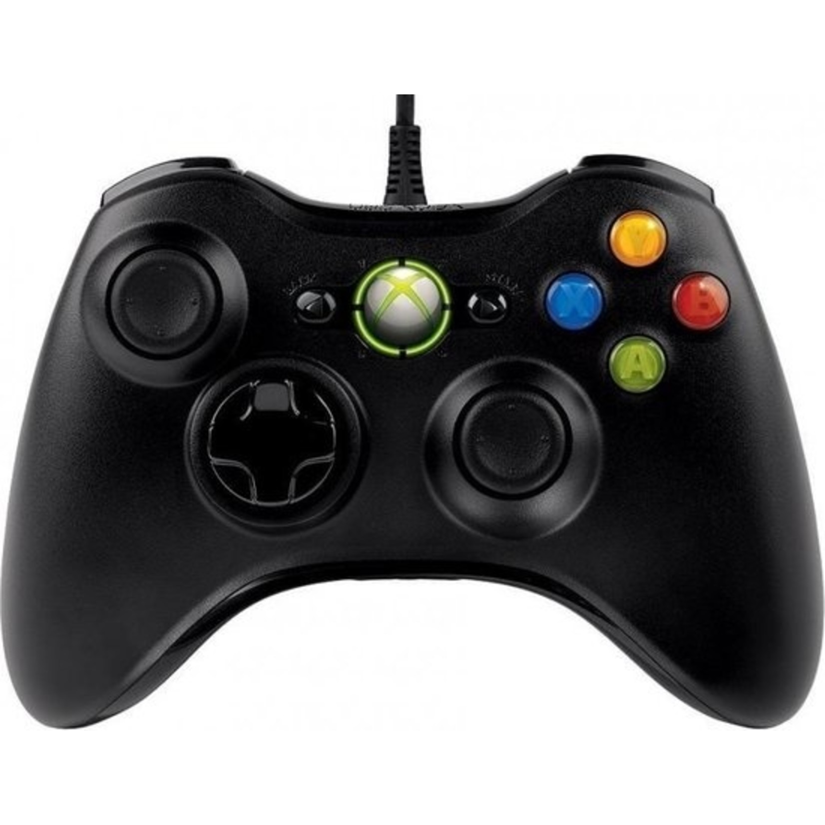 Microsoft Bedrade / Wired Xbox 360 Controller - Zwart