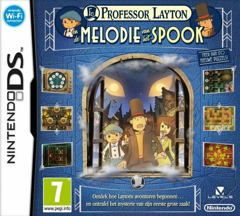 Professor Layton En de Melodie van het Spook