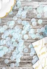 PartyDeco Confetti lichtblauw