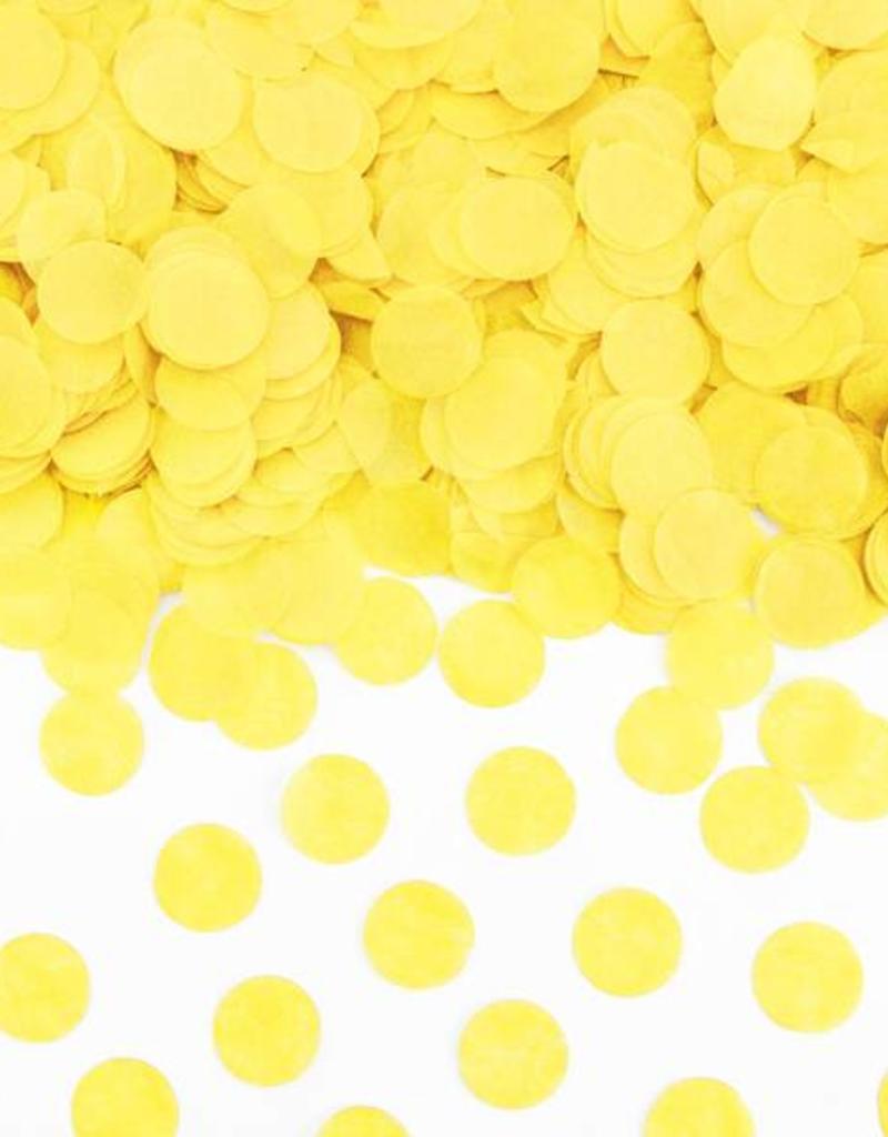 PartyDeco Confetti geel