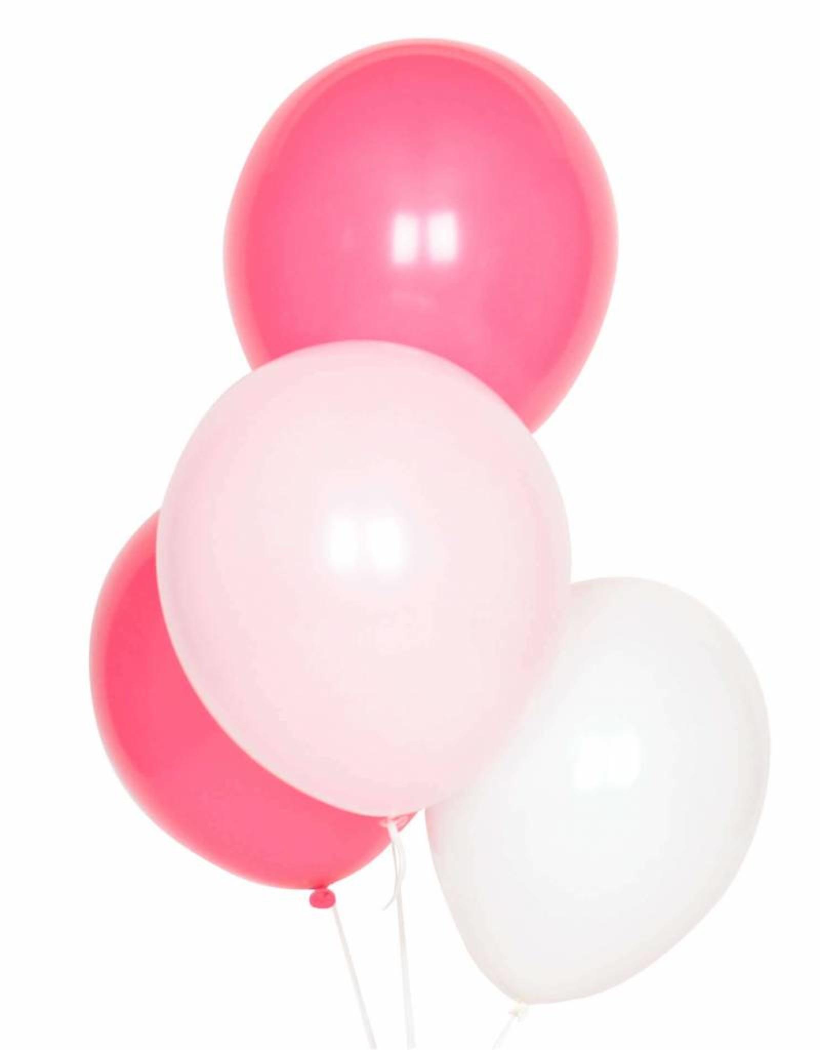 My Little Day Ballonnen mix roze & wit | 10 stuks
