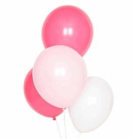 My Little Day Ballonnen mix kleuren roze & wit | 10st