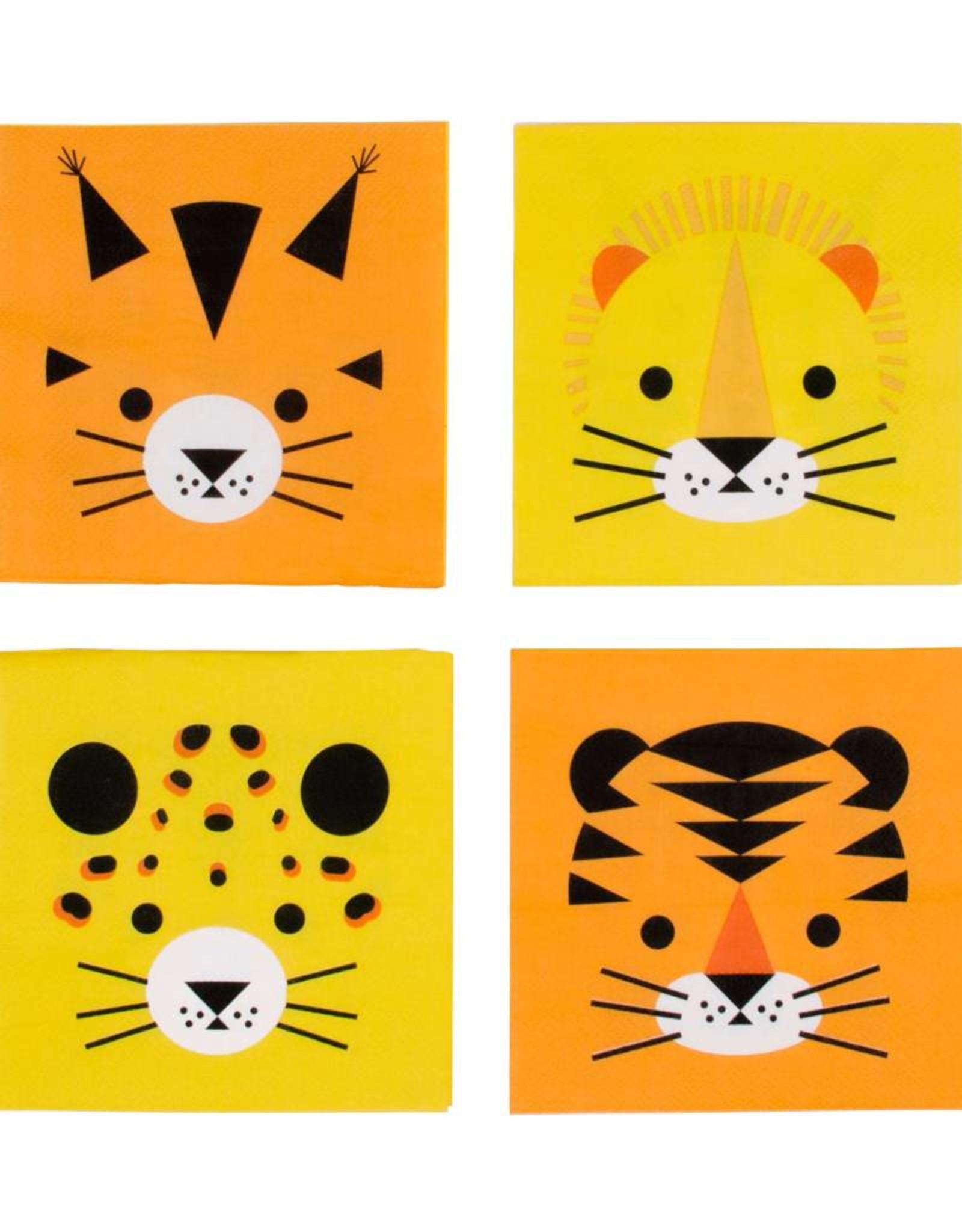 My Little Day Servetten jungle dieren 'Welcome to the jungle' | 20 stuks