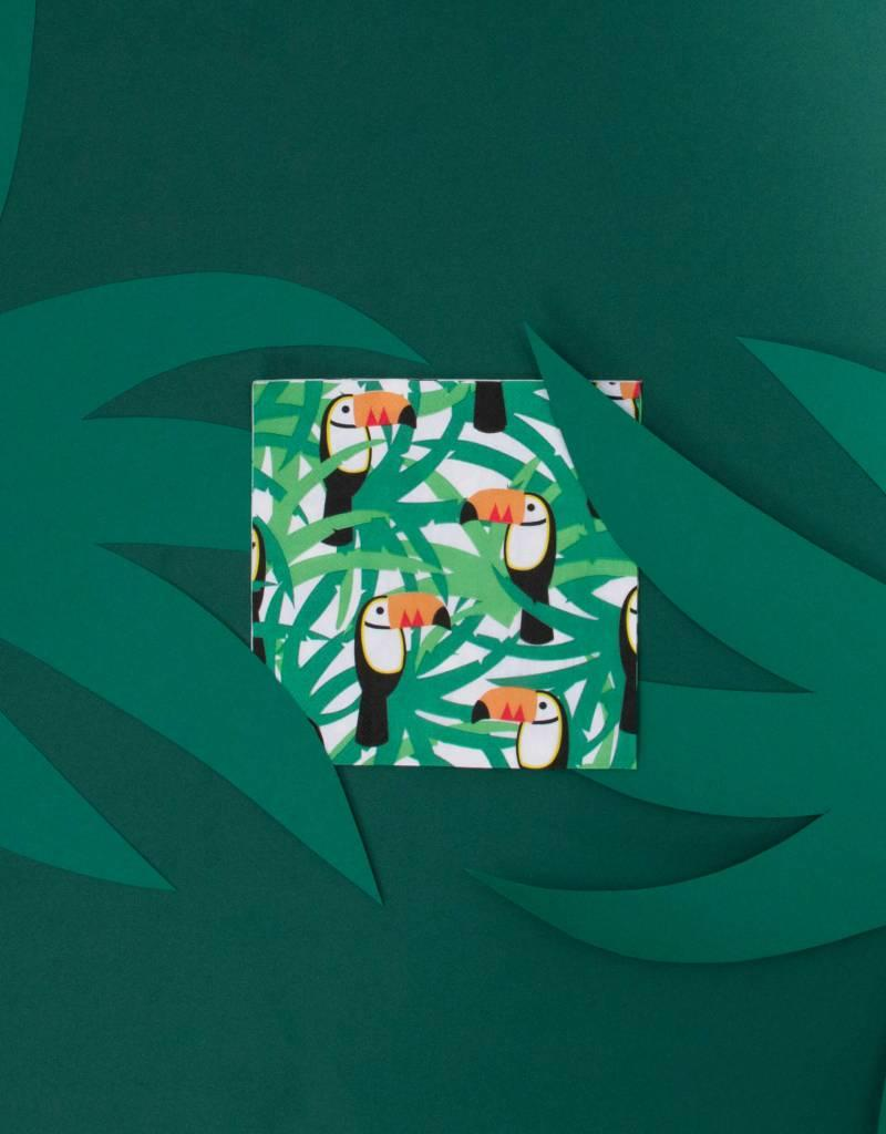 My Little Day Papieren servetten tropical toucan | 20 stuks