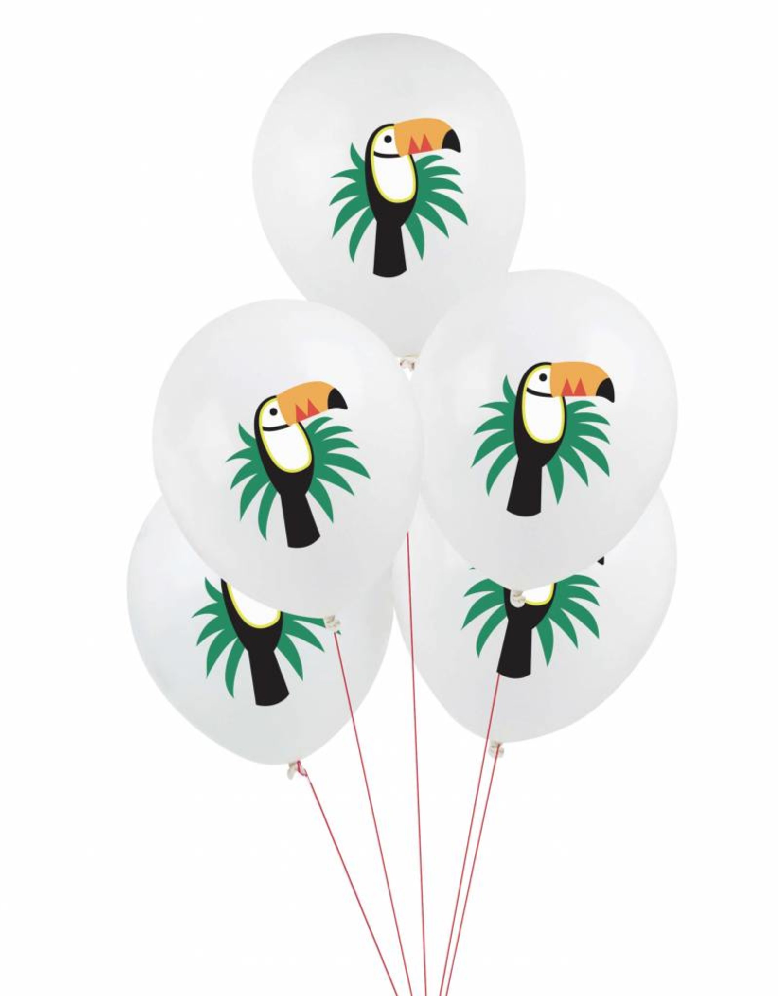 My Little Day Ballonnen 'Tropical toucan' | 5 stuks
