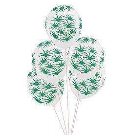 My Little Day Ballonnen 'Tropical leave' print | 5st