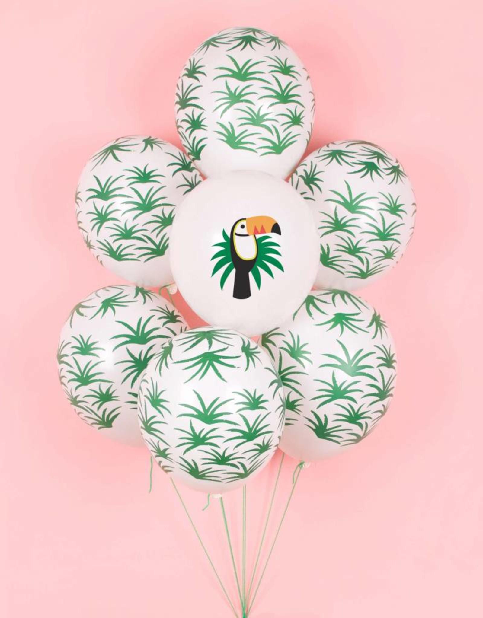 My Little Day Ballonnen 'Tropical leave' | 5 stuks