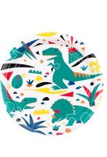 My Little Day Papieren bordjes dinosaurus | 8 stuks
