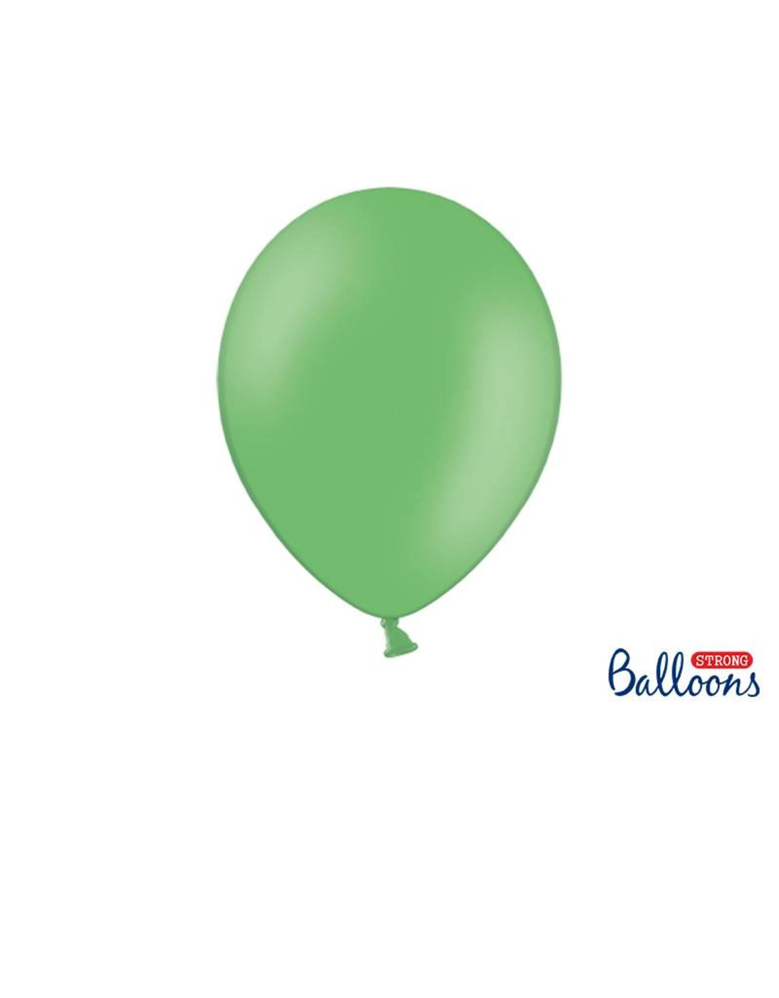 Strong Balloons Ballonnen groen (30 cm) | 10 stuks