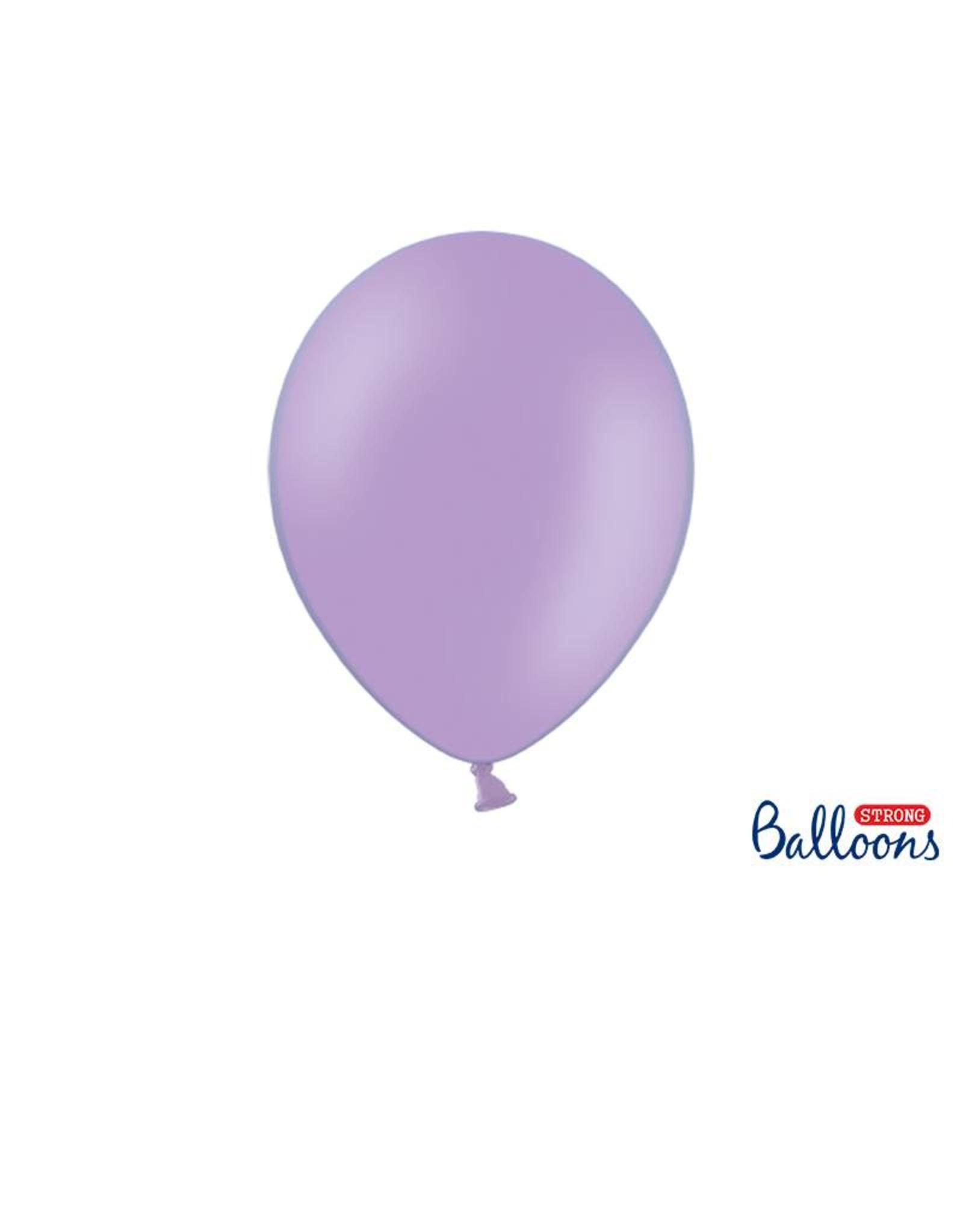 Strong Balloons Ballonnen lavendel paars (30 cm) | 10 stuks