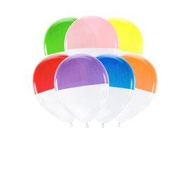 PartyDeco Ballonnen regenboog kleuren | 7st