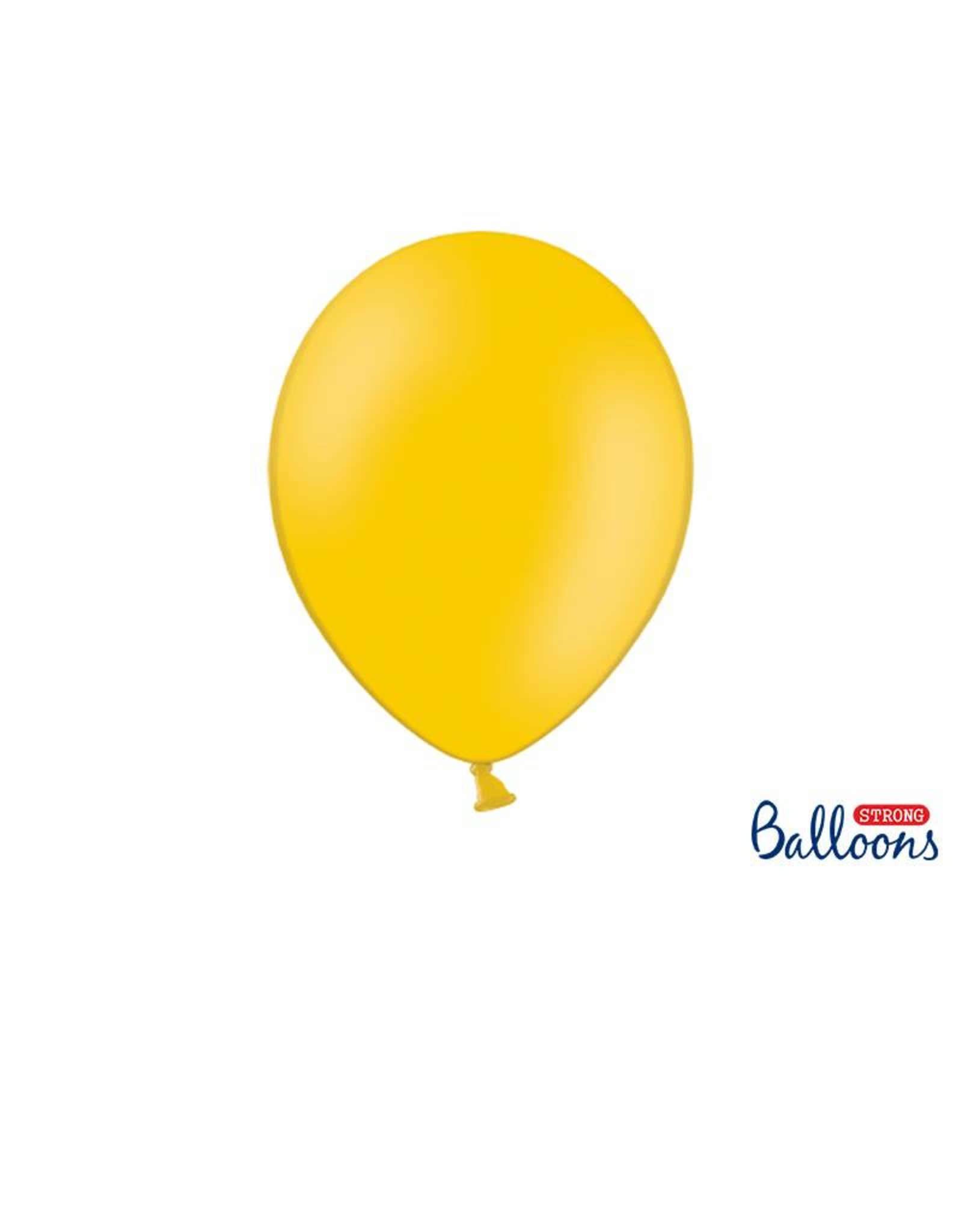 Strong Balloons Ballonnen licht oranje  (30 cm) | 10 stuks