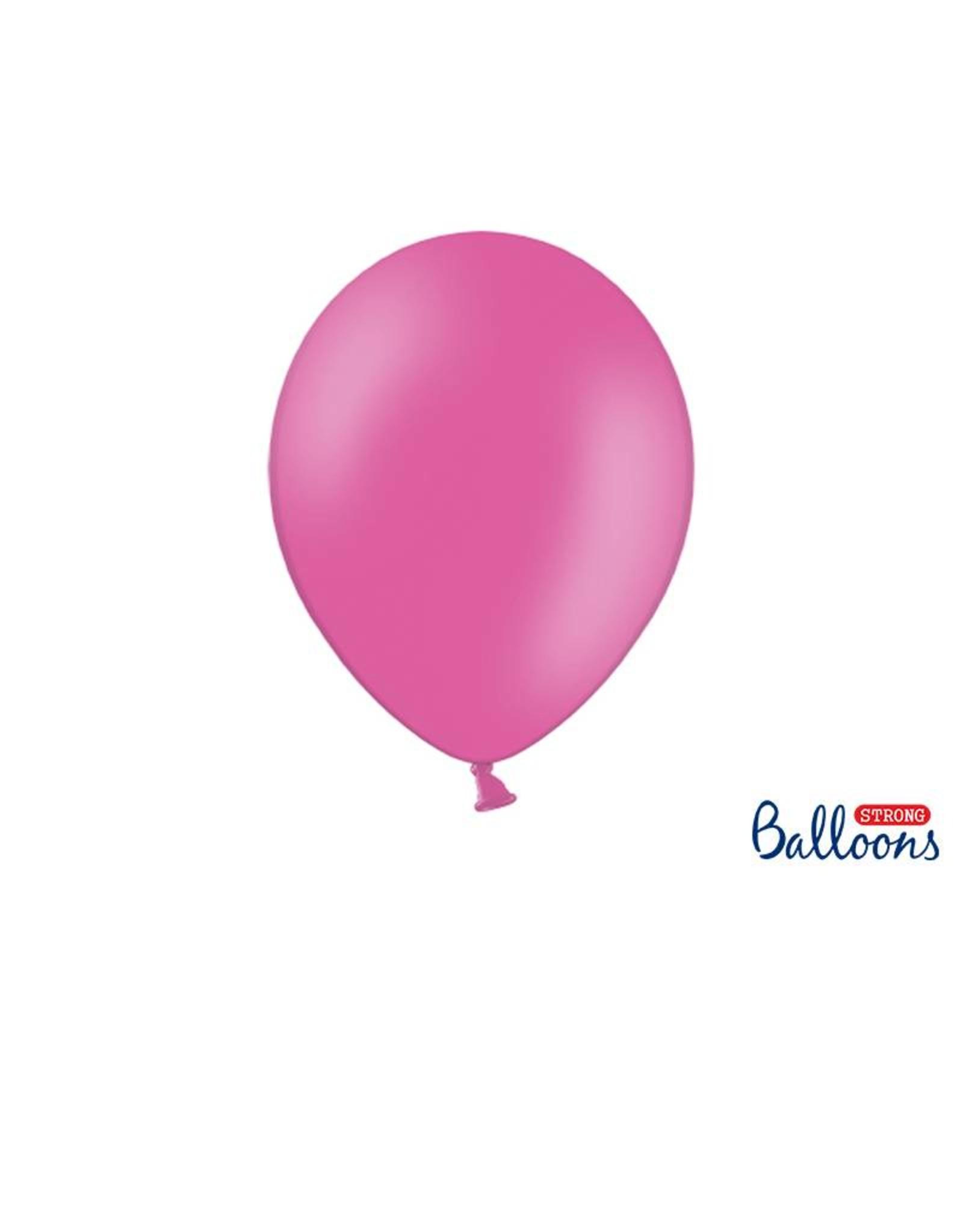 Strong Balloons Ballonnen roze (30 cm) | 10 stuks