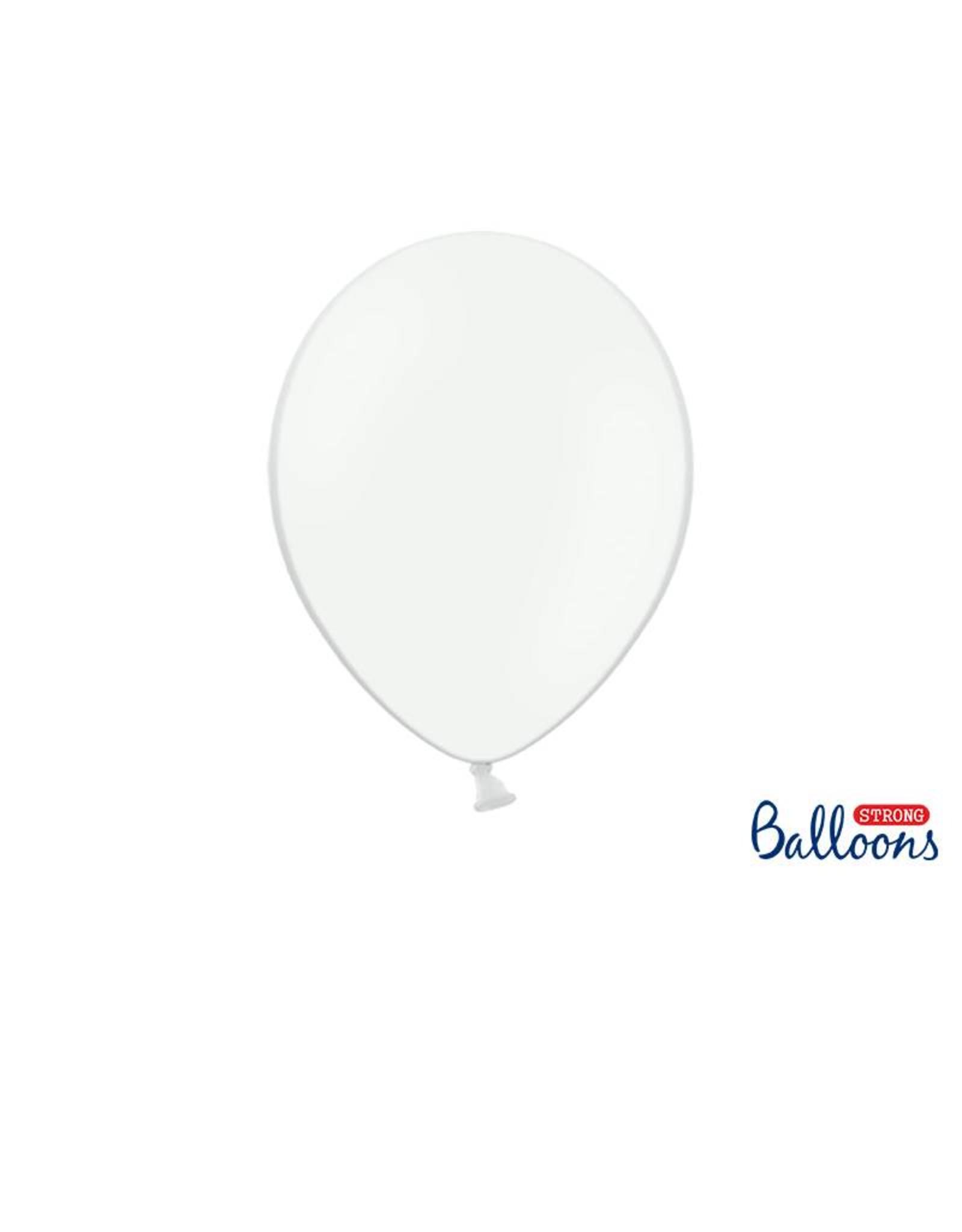 Strong Balloons Ballonnen wit (30 cm) | 10 stuks