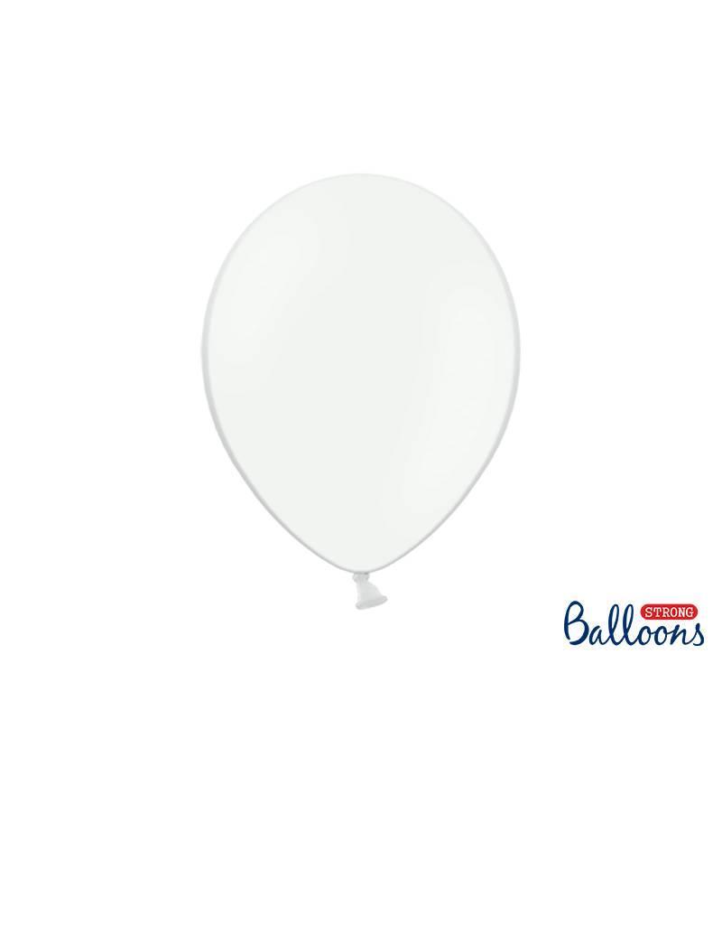 Strong Balloons Ballonnen wit (30 cm)   10 stuks