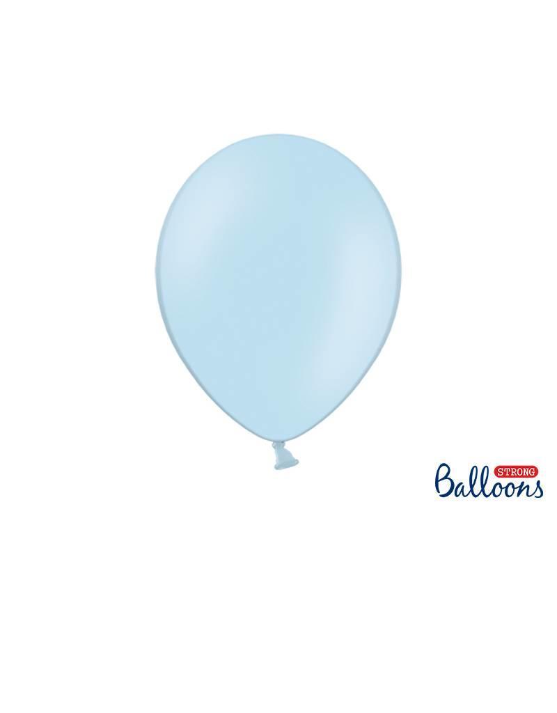 Strong Balloons Ballonnen lichtblauw (30 cm) | 10 stuks