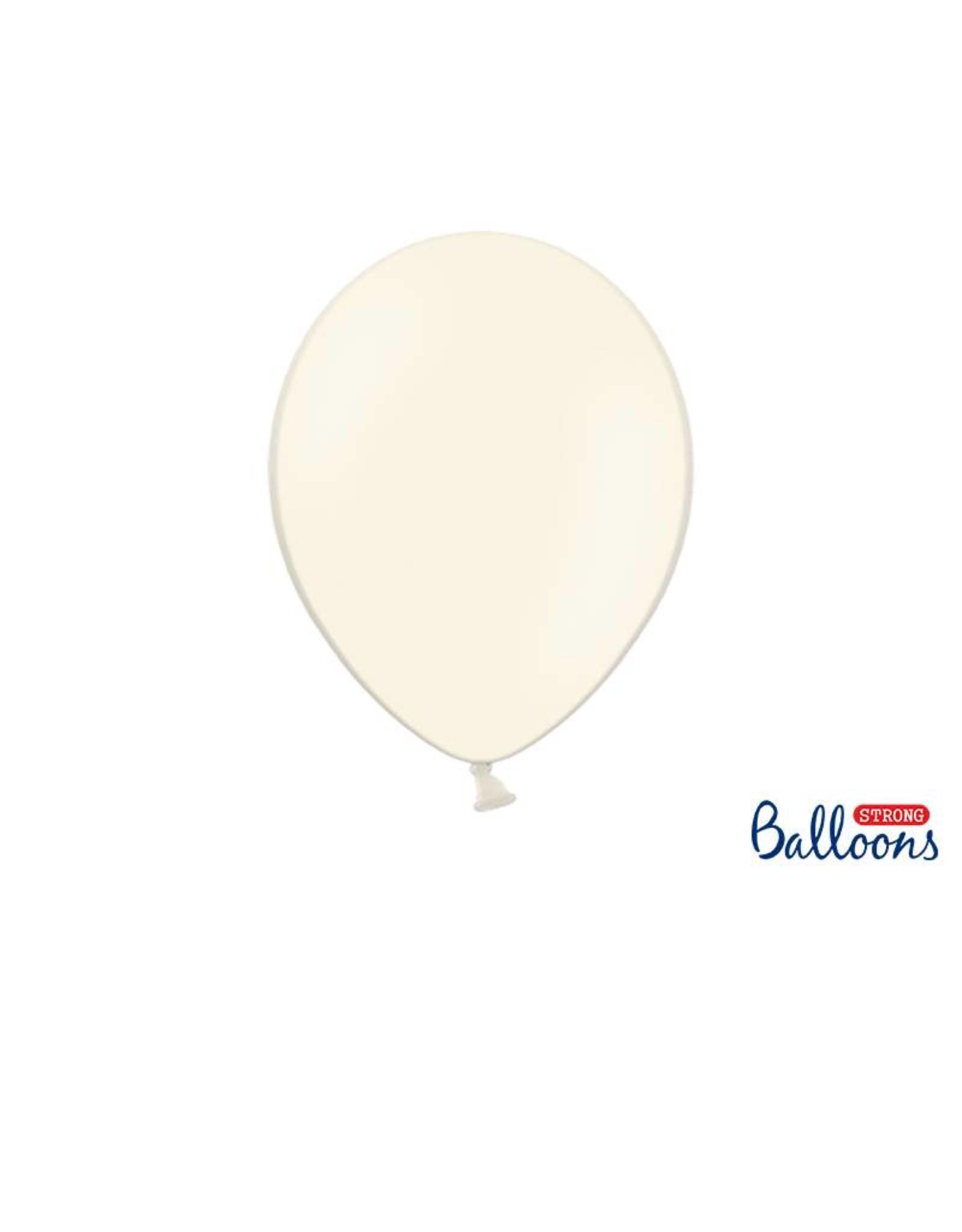 Strong Balloons Ballonnen crème (30 cm) | 10 stuks