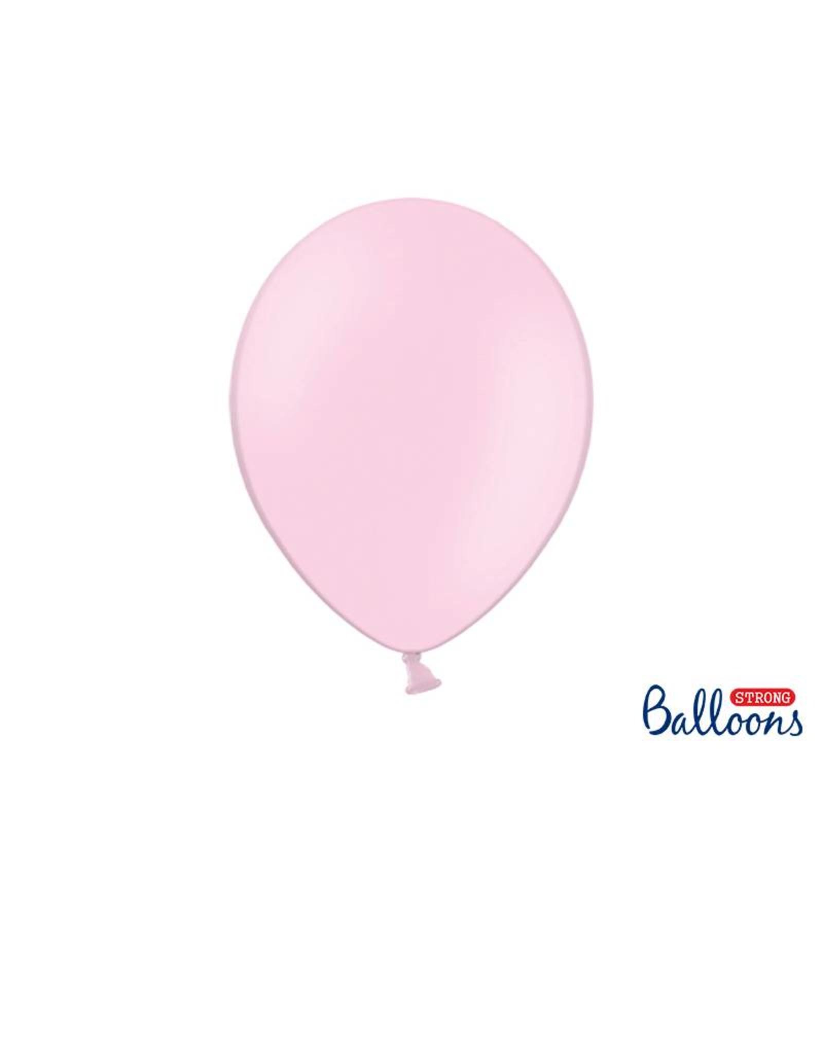 Strong Balloons Ballonnen lichtroze (30 cm) | 10 stuks